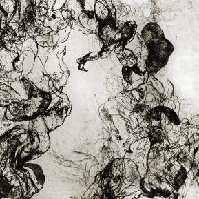Stampa d'arte su carta per incisioni. Anno di produzione: 2013. Tecnica ad incisione calcografica mista. Dimensioni del foglio di stampa: 700mm x 500mm