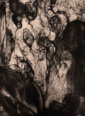 Stampa d'arte su carta per incisioni. Anno di produzione: 2015. Tecnica ad incisione calcografica mista. Dimensioni: 560mm x 740mm