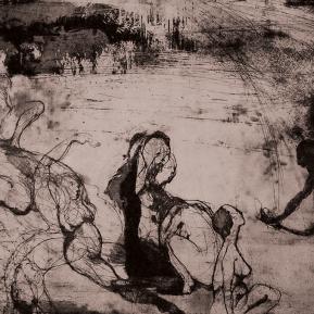 Stampa d'arte su carta per incisioni. Anno di produzione: 2015 Tecnica ad incisione calcografica mista Dimensioni: 740mm x 560mm